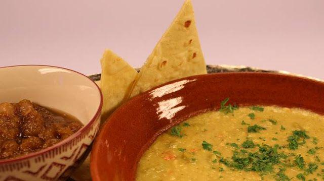 """La mia cucina etica: Crema di """"lenticchie"""" bianche con chutney agrodolc..."""
