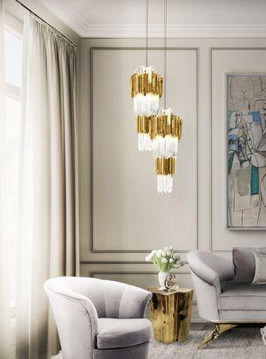 A beautiful creation by Luxxu modern lamps! Don´t forget to check out the web site for more information.http://www.covetlounge.net/  #lamps #chandelier #luxury