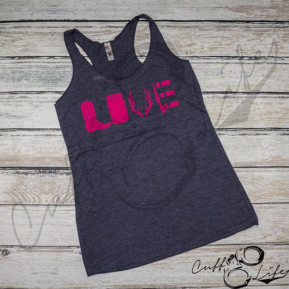 Country Love Racerback Tank / Country Shirt / Ladies Country