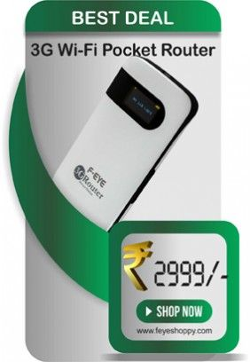 Get FEYE SIM Card Router at Best wifi router Price from FEYESHOPPY.Get best collection of latest gadgets and accessories on FEYESHOPPY.SIM Card Router is works on GSM network.We also have Data Card and CDMA Router at best wifi router price.