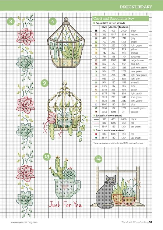 Gallery.ru / Фото #51 - The world of cross stitching 237 - tymannost