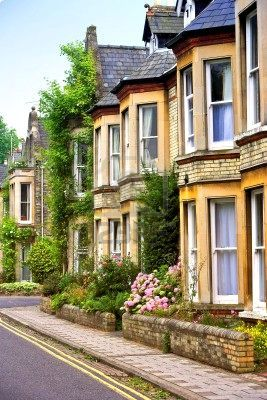aww how cute! houses in england.