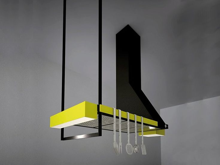 Island Cooker hood TANGRAM by Elica | Design Ludovica+Roberto Palomba (2012)