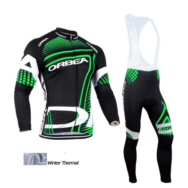 Winter Thermal Fleece Cycling Jersey Long Sleeve Ropa Ciclismo Bike Cycling Clothing Wish Cycling Outfit Bike Clothes Bicycle Clothing