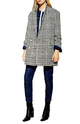 9bb6b82f TOPSHOP Designer Pippa Check Coat | Avivey (Style Lives Here) in ...