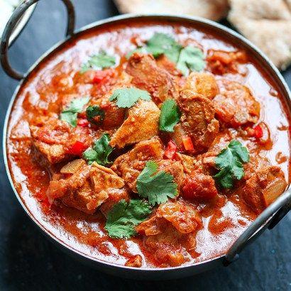 Easy Spicy Thai Slow Cooker Chicken Recipe — Dishmaps