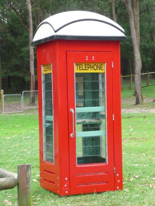 Remember these? Australian phone booths