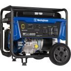 WGen 5,500/6,850-Watt Gasoline Powered Portable Generator with Gfci Outlets and Digital Data Center