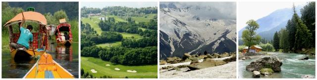 KASHMIR CLASSIC : Srinagar → Gulmarg → Pahalgam → Srinagar → Sonmarg → Srinagar #india #travel #tour #itinerary #tours #packages