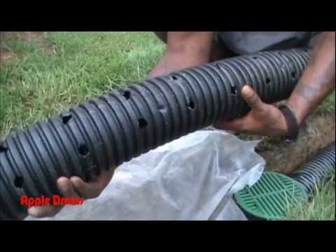 Draining / Drenaje de agua - YouTube