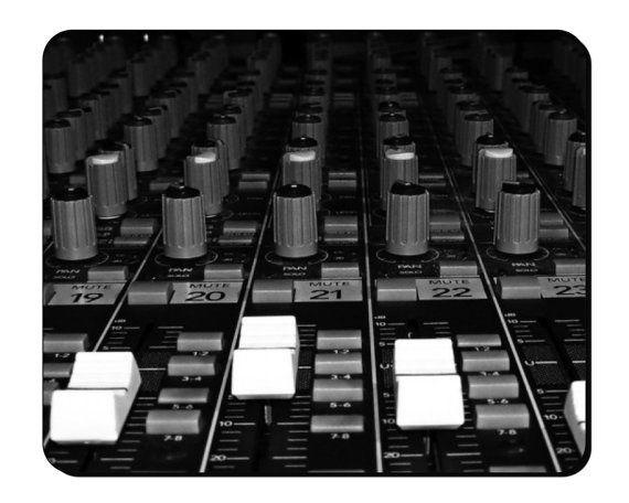Muismat  Mixing Desk opnamestudio muzikale Instrument Mouse