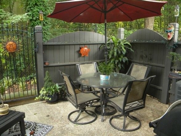 outdoor decoration on a budget | 15 Fabulous Small Patio Ideas To Make Most Of Small Space ...