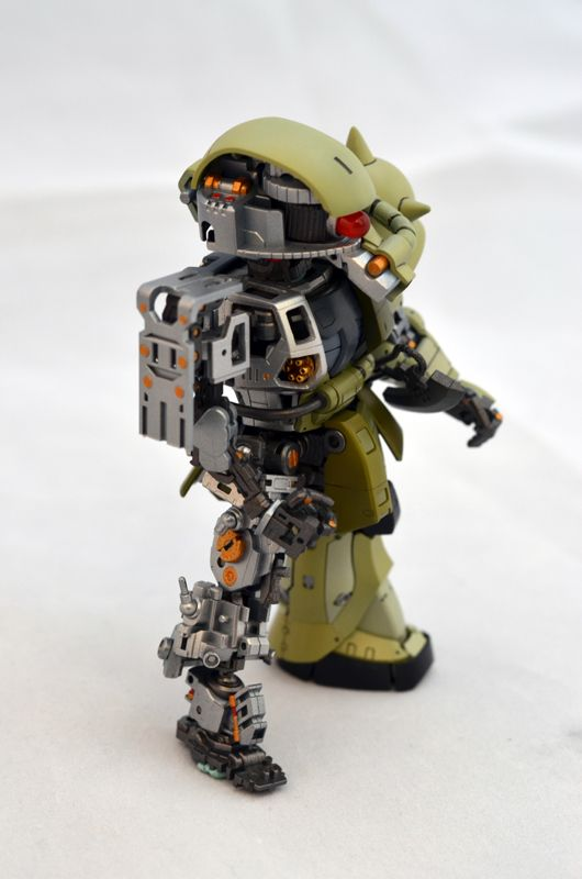GUNDAM GUY: SD Zaku Innerframe - Custom Build