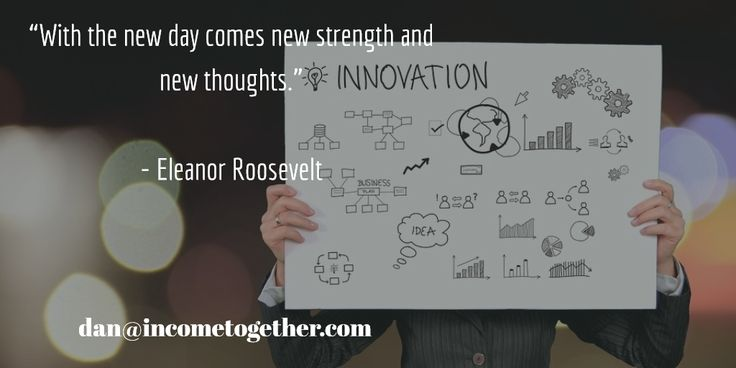 """""""With the new day comes new strength and new thoughts.""""   - Eleanor Roosevelt"""