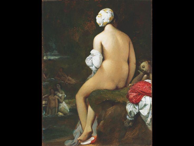 Jean-Auguste-Dominique Ingres, La piccola bagnante, 1826