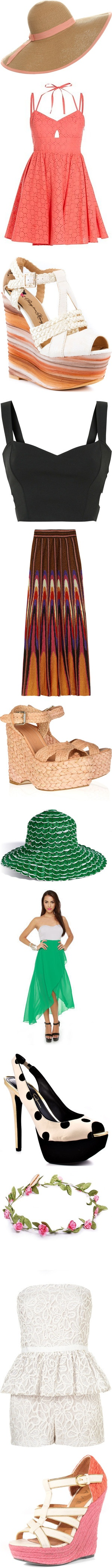 """""""Outfits to wear for Opening Day/Horse Races"""" by iheartkittys on Polyvore"""