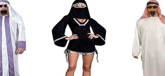 Amazon'dan Cadılar Bayramı kostümü: Seksi burka!