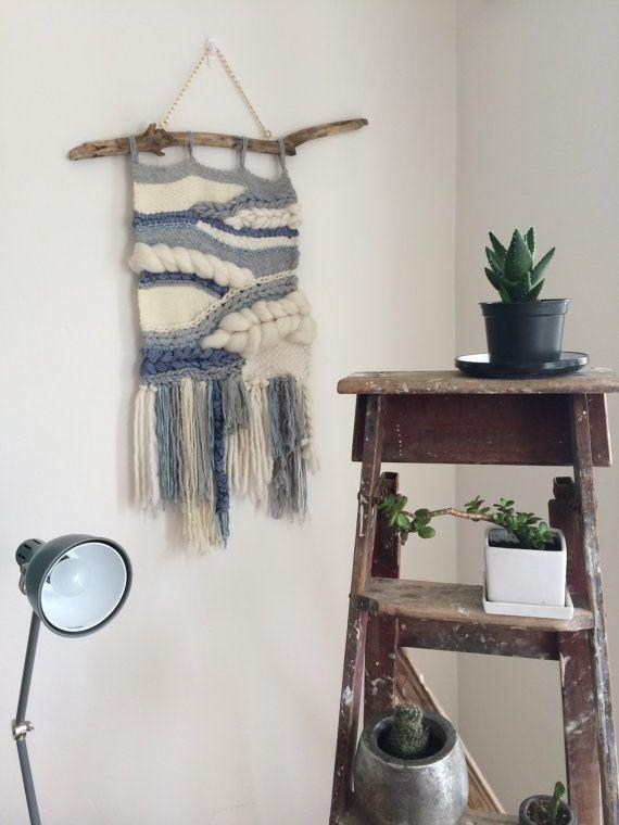 MAYHEM Large handwoven wall-hanging 100% pure wool