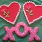 I want to make these!Cake Cupcakes Cookies, Valentine Cookies, Best Recipes, Rolls Sugar Cookies Recipe, Cookies Cutters, Sugar Cookie Recipes, Best Sugar Cookies, Decorated Sugar Cookies, Decor Sugar Cookies