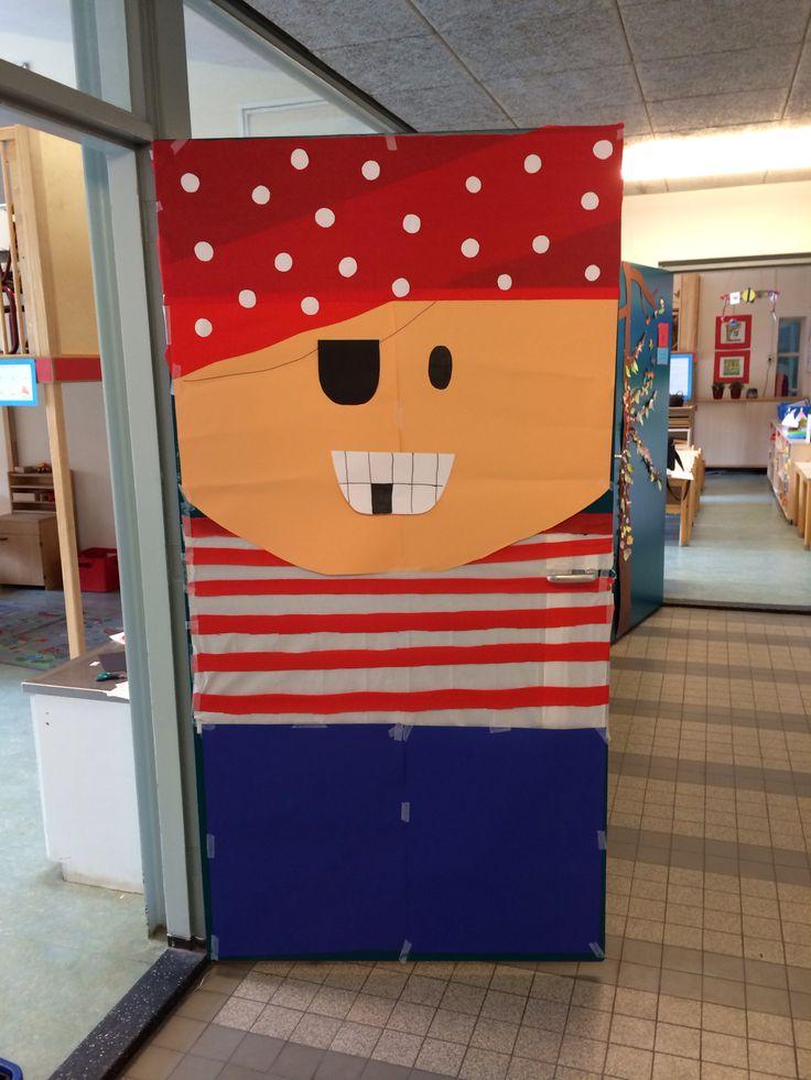 Mijn klasdeur voor thema piraten
