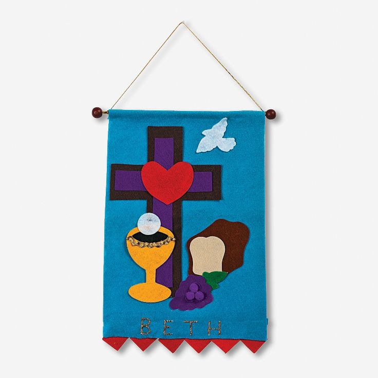 17 best images about communion banner on pinterest the for First communion craft ideas