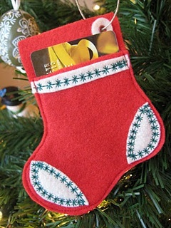felt gift card holders- instructions and free template