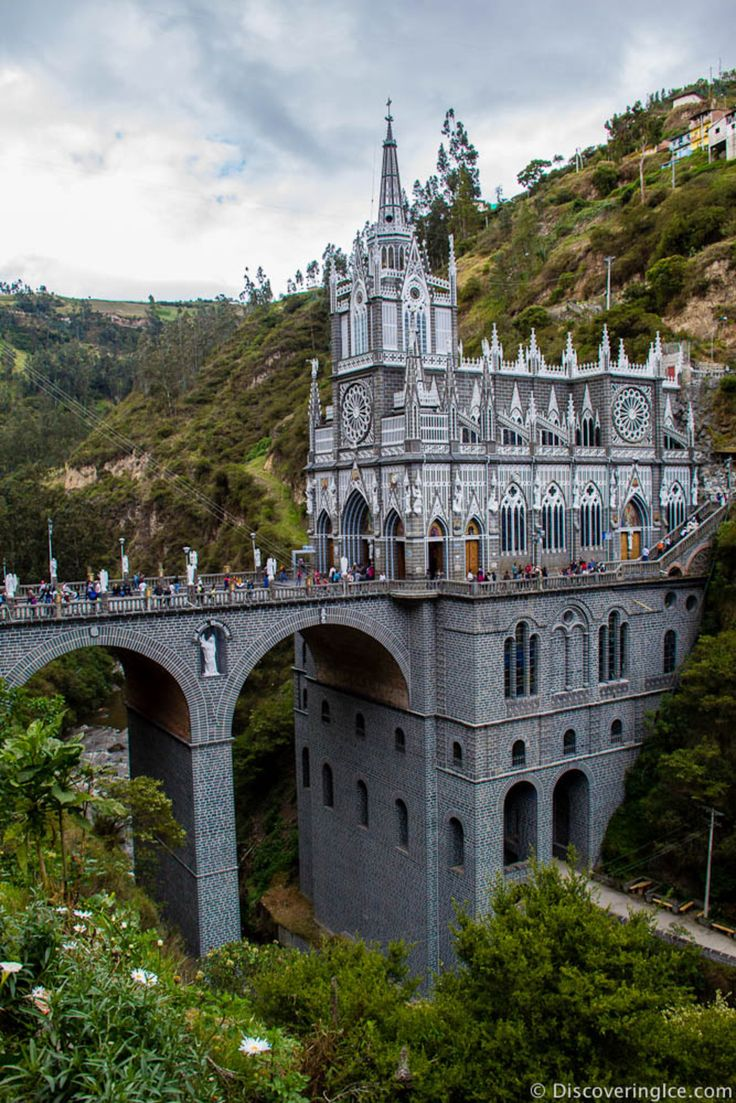 Las Lajas Sanctuary, Las Lajas, Colombia