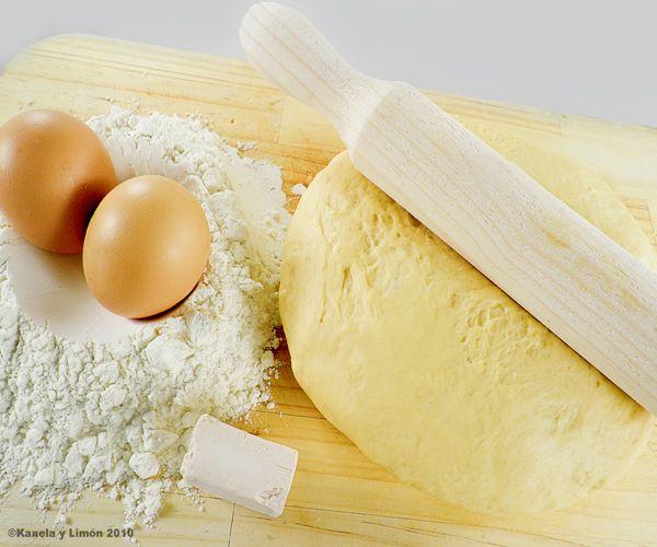 Kanela y Limón: Masa básica de empanada / Panificadora