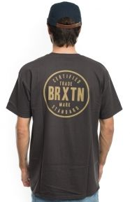 Brixton Clothing, Cowen T-Shirt - Washed Black