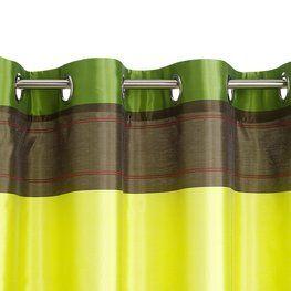 Závěs RUNN 140x175cm zelená