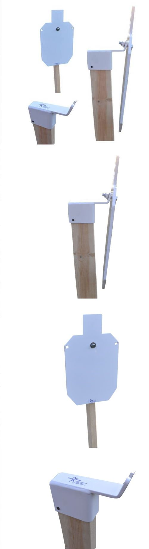 Targets 73978: Ar500 12X20 X 3/8 Steel Shooting Target With Stand Hanger Mount Kit Silhouette BUY IT NOW ONLY: $89.99