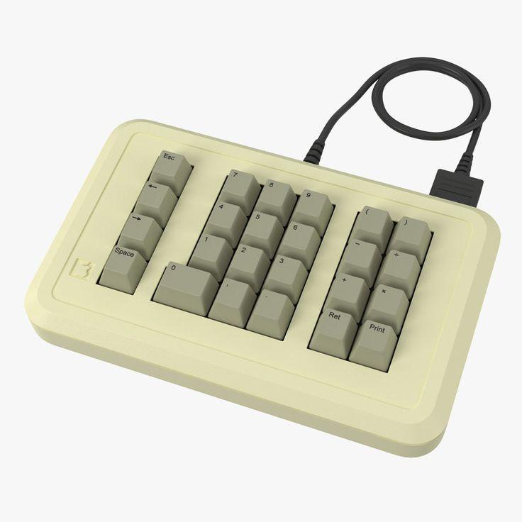 3D Model Apple Iie Numeric Keypad - 3D Model