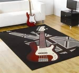 37 best images about boys soccer guitar bedroom on pinterest shelves teenage bedrooms and - Guitar decorations for bedroom ...