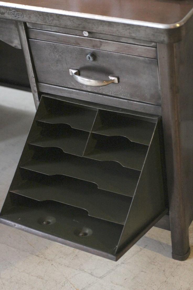 (2) Original Reconditioned Steel Desk   · Industrial FurnitureVintage ...