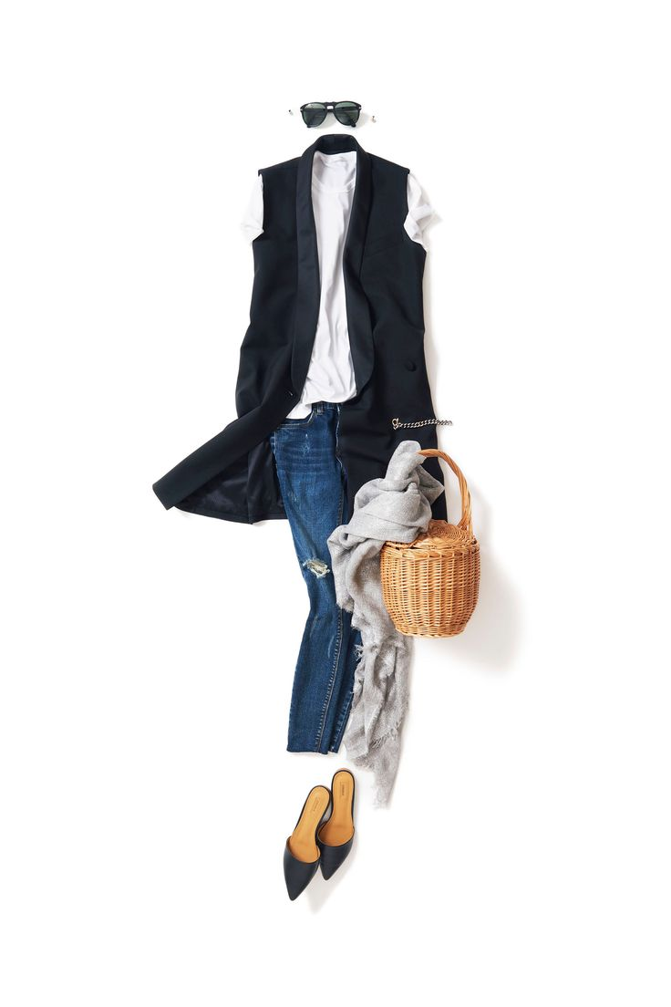 Kyoko Kikuchi's Closet #kk-closet ちょっとエッジィが効いて、ちょっとモードな白T×デニム