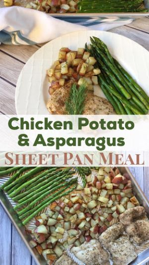 Healthy Chicken Sheet Pan Meal