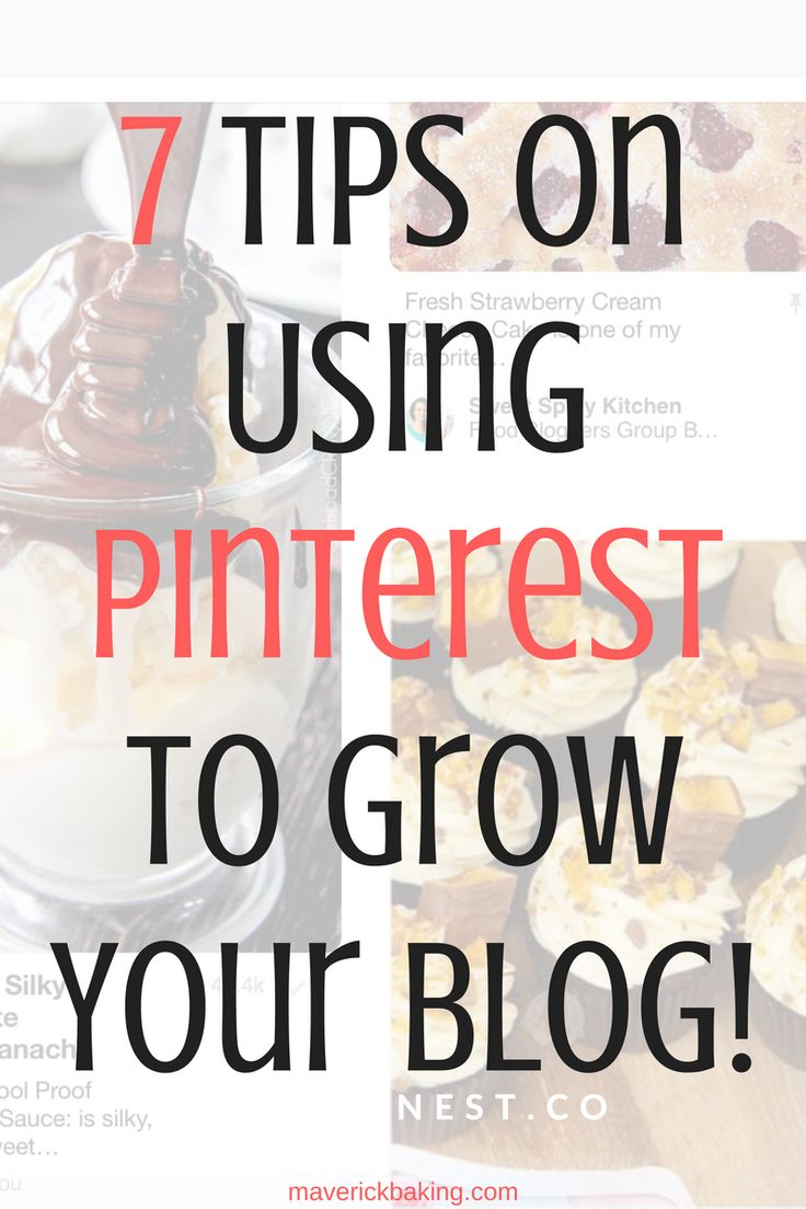 7 Tips on Using Pinterest to Grow Your Blog! This is a definitive guide to using the wonderfully creative and colourful search engine of Pinterest to grow your blog or business!