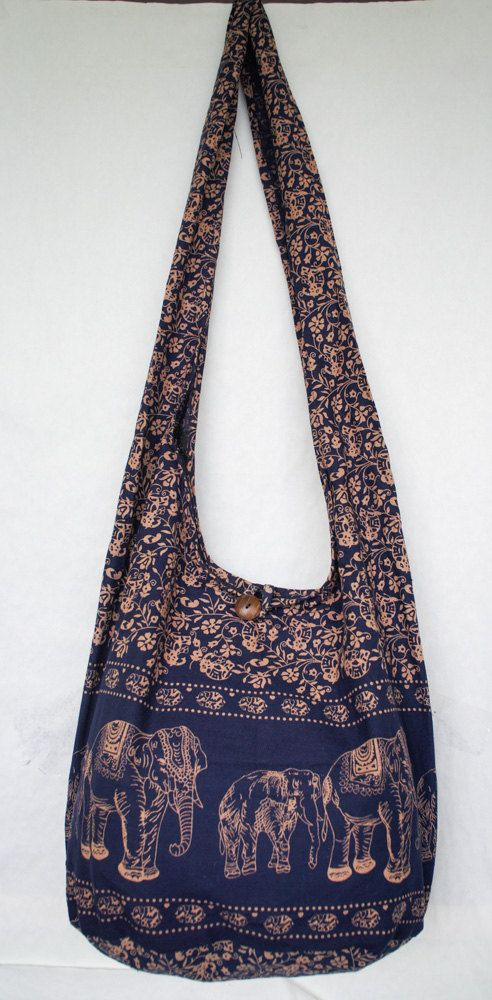 Hey, I found this really awesome Etsy listing at https://www.etsy.com/listing/216523642/yaamstore-navy-blue-elephant-hobo-hippie
