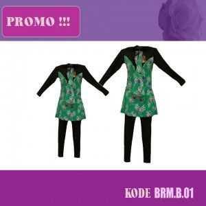 baju renang muslim brmb 02
