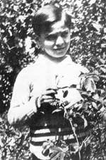 Une enfance heureuse Georges Brassens à l'âge de 8 ans