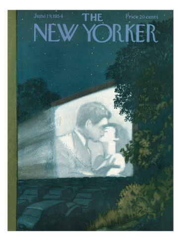 The New Yorker Cover - June 19, 1954 Poster Print by Arthur Getz at the Condé Nast Collection