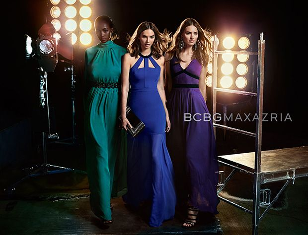 BCBG MAXAZRIA enlists fashion photography duo Hunter & Gatti to present the Spring Summer 2016 collection with a showstopping campaign. Taking the spotlight are models Dalia Guenther, Genesis Vallejo and Agne Konciute beautifully styled for the session by Elizabeth Cabral.  Discover more of the new campaign after the jump:                …