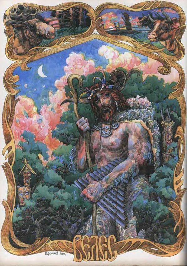 """""""The Tale of Bygone Years"""" chronicler Nestor Veles calls """"cattle god ..."""