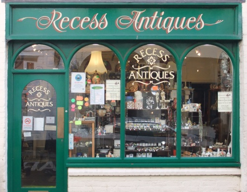 Dad loved antiques, he always wanted to own a shop selling them.