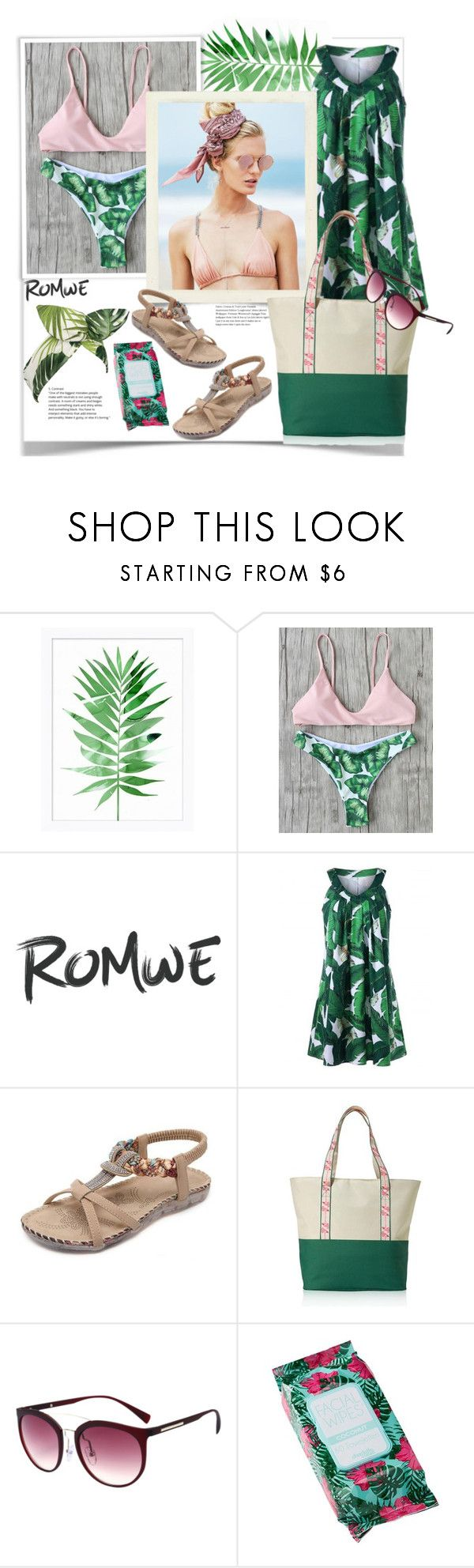 """Romwe."" by natalyapril1976 on Polyvore featuring Mode, Pottery Barn, Beach Riot, Avon, Charlotte Russe und Lulu in the Sky"