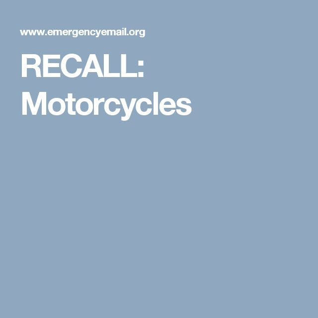 American Honda Recalls Motocross Off Road Motorcycles Due To Crash   Wakefern  Portal  Wakefern Portal