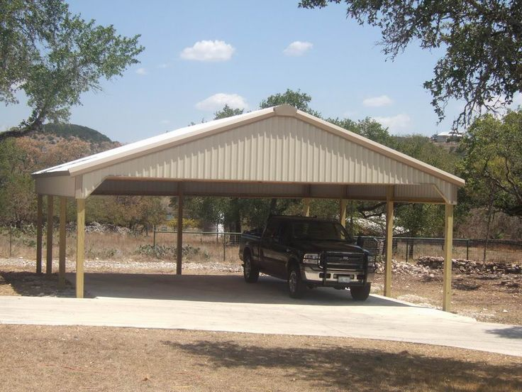 30x30 carport google search man cave shed pinterest for Kit da garage 30x30