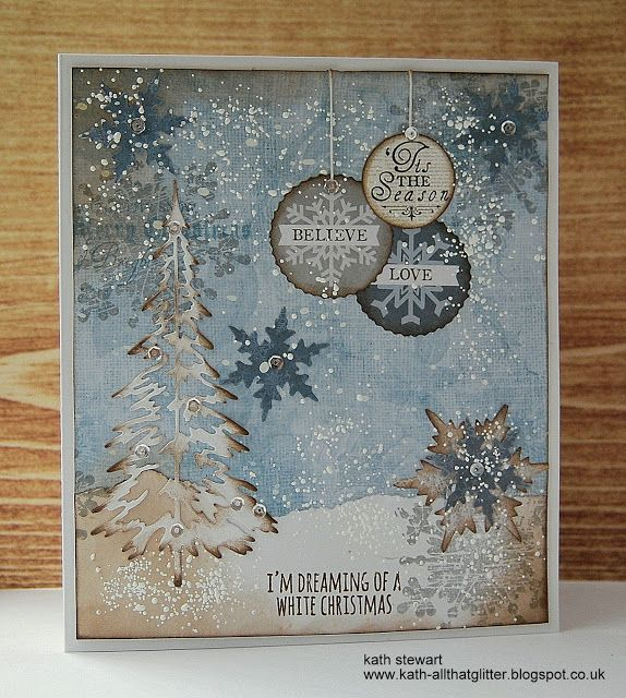 Kath's Blog......diary of the everyday life of a crafter: Let There Be Snow...