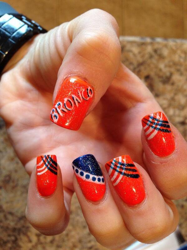 Best 25+ Denver broncos nails ideas on Pinterest   Broncos ...