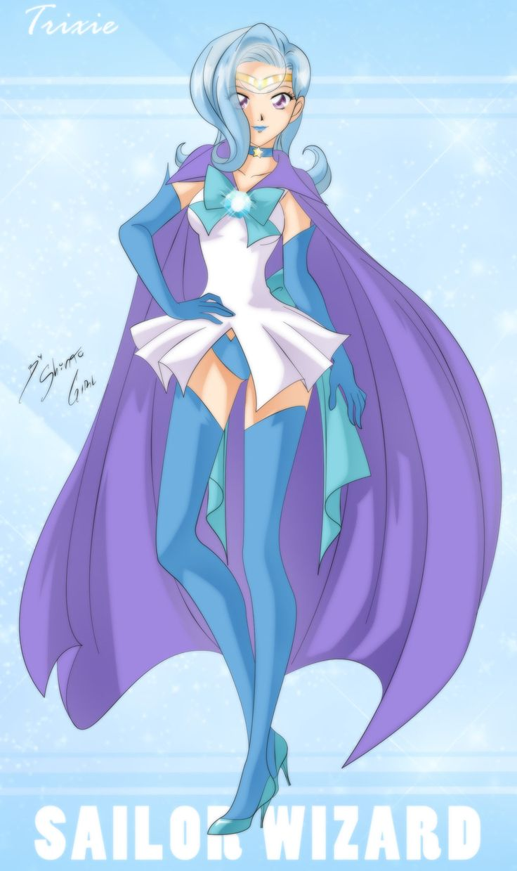 Sailor Wizard - Trixie by Shinta-Girl.deviantart.com on @deviantART